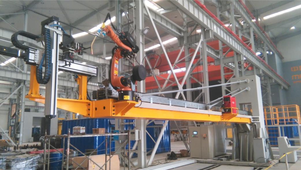 筒体内壁焊接机器人